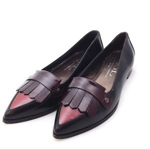 ⏰⏰⏰Sold AGL Leather Pointy Toe Loafers 8.5